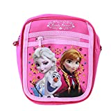 Officially Licensed Disney Adjustable Strap Purse - Elsa, Olaf, and Anna