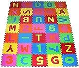 PRINZBERT Puzzlematte Spielmatte Spielteppich Kinderteppich Schaumstoffmatte ...