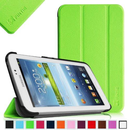 Fintie Samsung Galaxy Tab 3 7.0 Case Cover - Ultra Slim Lightweight Stand Smart Shell, Green