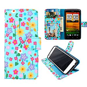 DooDa PU Leather Wallet Flip Case Cover With Card & ID Slots & Magnetic Closure For Blackberry Q5