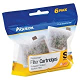 Aqueon 06417 Filter Cartridge, Small, 6-Pack