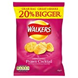 Walkers Prawn Cocktail Flavour Crisps 60g x Case of 32