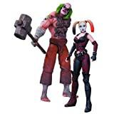 Mr. Hammer Thug and Harley Quinn Batman Arkham City Action Figure 2 Pack