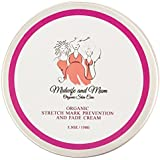Organic Stretch Mark Prevention and Fade Cream with Shea Butter and Coconut Oil - Light citrus scent-Soothes Dry Itchy Skin, Softens Scars - Safe for Babies, Children, and all stages of Pregnancy