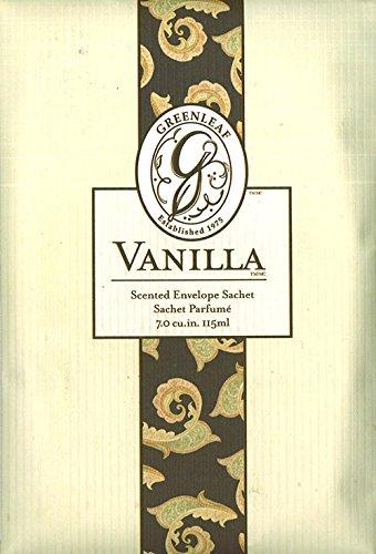 Vanilla Scented Envelope Sachet 4 1/2''x6 1/2''