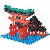 Kawada NBH-017 Japan Nanoblock Torii of Itsukushima Shrine