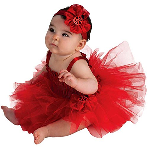 Ladybug Tutu Dress Baby Costume - 6-9 Months