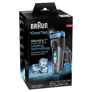 (旗舰)博朗冰感护肤电动剃须刀Braun Cool Tec Men's Shaving 环保包装,折后$194.99