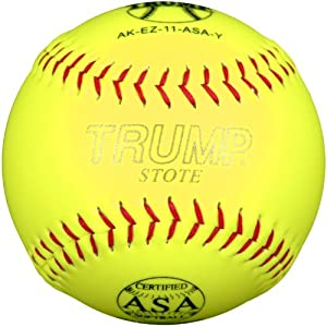 Trump AK-EZ-ASA-Y AK-EZ Yellow Synthetic Leather. Core ASA Softball