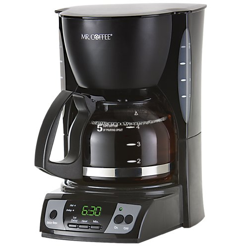Best Coffee Maker Inexpensive : Mr. Coffee CGX7 5-Cup Programmable Coffeemaker, Black cheap Coffee Maker on sale