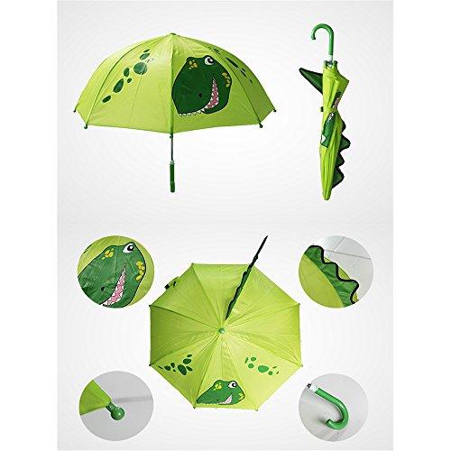Cute-Cartoon-animaux-parapluie-pour-enfant-oreilles-Animal-Bend-poigne-petit-dinosaure