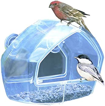 Perky-Pet Birdscapes Clear Window Feeder