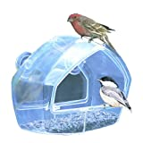 Birdscapes Clear Window Feeder 348 thumbnail