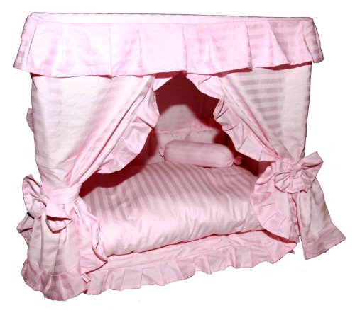 Classic Designed Pink Color Bed