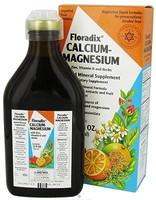 Flora Floradix Calcium-Magnesium Liquid Mineral Supplement