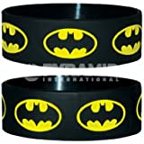 Batman Logo Rubber Wristband