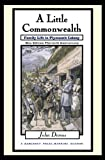 A Little Commonwealth: Family Life in Plymouth Colony (0195128907) by Demos, John