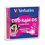 Verbatim 2.8 GB 2x Double-Sided Mini DVD-RAM Bundle (3 Discs) 95429