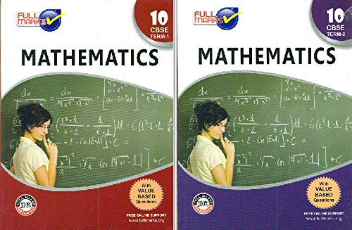Full Marks Mathematics Class 10 :Set of Term 1 & 2