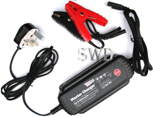 Automatic leisure / car battery charger Intellegent