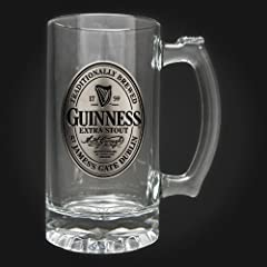 Guinness Tankard with Pewter Logo