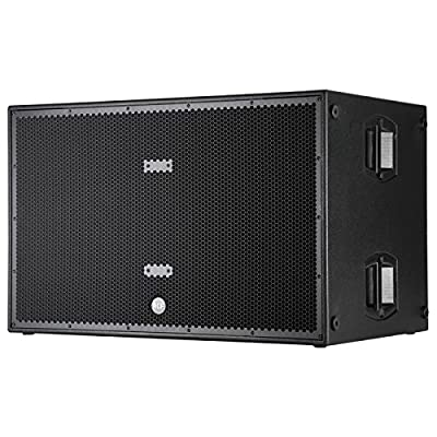 RCF SUB8006AS Powered Double 18-Inch 5000 Watt Sub from RCF