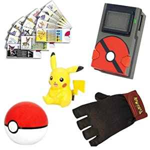 Pokemon T18201 Pokedex Trainer Kit Solid Pack - Kit de entrenamiento Pokémon