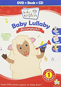 BABY EINSTEIN: BABY LULLABY DISCOVERY KIT - DVD, CD & PICTURE BOOK