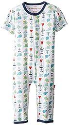 Magnificent Baby-boys Newborn Union Suit, Multi Stripe Print, 9 Months