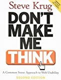 img - for Don't Make Me Think!: A Common Sense Approach to Web Usability by Steve Krug (2005-08-18) book / textbook / text book