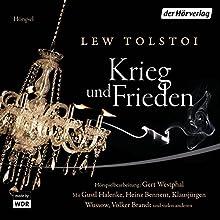 Krieg und Frieden Hörspiel von Lew Tolstoi Gesprochen von: Klausjürgen Wussow, Gustl Halenke-Holtzmann, Heinz Bennent, Volker Brandt