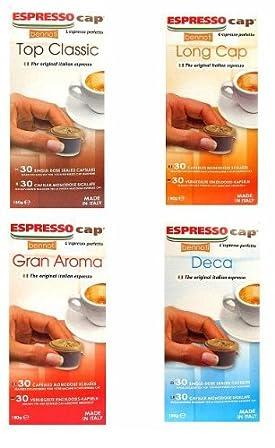 Bennoti the Original Italian Espresso Coffee Long Lasting Rich & Creamy Taste (8 Capsules Sample Pack)