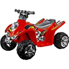 Lil' Rider Ruckus GT Sport - Battery Operated ATV, Red