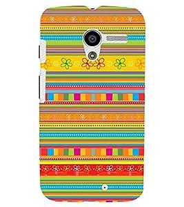 Printvisa Multicoloured Ethenic Pattern Back Case Cover for Motorola Moto X XT1058::Motorola Moto X (1st Gen)