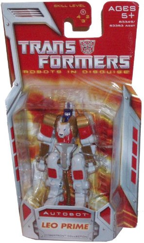 Transformers Year 2007 Robots in Disguise Cybertron Collection Series Legends Class 3 Inch Tall Robot Action Figure - Autobot LEO PRIME - 1