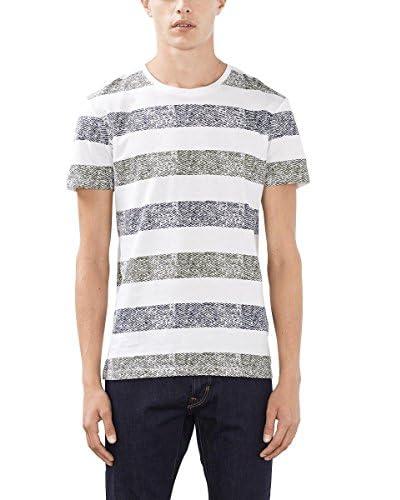 edc by ESPRIT T-Shirt Manica Corta  [Bianco Ottico]