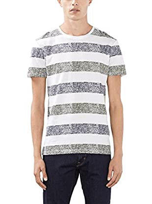 edc by ESPRIT Camiseta Manga Corta (Blanco Óptico)