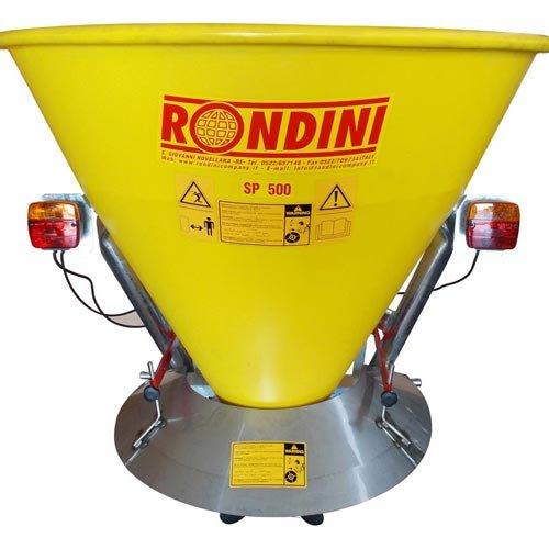 Rondini sp500poly Streuwagen Dünger Pro auf Kardangelenk und Rührwerk–Edelstahl und Behälter Polyethylen 350Liter–von 6bis 14Meter–Salz und Dünger kaufen