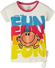 MMLM Girls' T-Shirt (MM0DGT474_Ivory _3/4)
