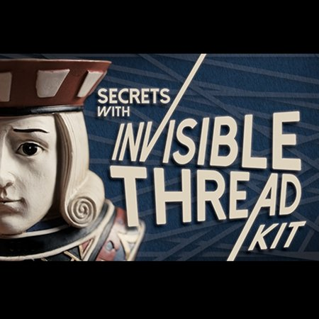 Secrets with Invisible Thread Kit by Magic Makers