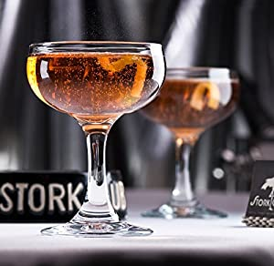 Stork Club Champagne Coupe (Set of 2)