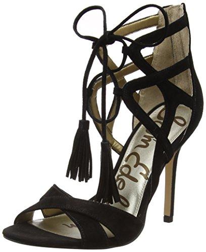 Sam Edelman Women's Azela Dress Sandal, Black, 9 M US