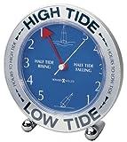 潮の流れをキャッチ★645-527 Tide Mate III Weather & Maritime Table Clock by タイドメーター Downeaster社 Brass【並行輸入】