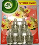 """Air Wick """"Island Paradise"""" 5 Piece Scented Oil Value Pack"""