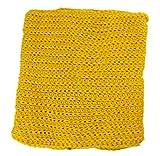 TheWin niños de bufanda color puro amarillo amarillo Talla:3 meses