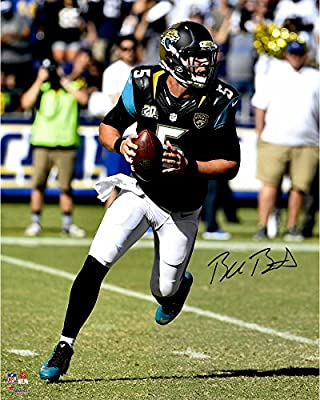 "Blake Bortles Jacksonville Jaguars Autographed 16"" x 20"" Scramble From Pocket Photograph - Fanatics Authentic Certified"