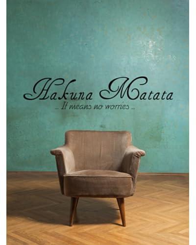 Ambience Live Vinilo Decorativo Hakuna Matata