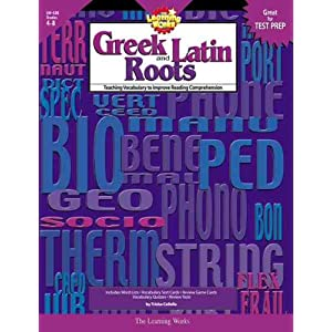 Amazon.com: Greek and Latin Roots, Gr. 4-8 (9780881603811): Trisha ...