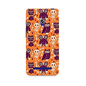 Mobicture Owls and Skull Premium Printed Case For Asus Zenfone 5