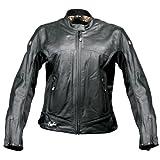 51YyGJc0nOL. SL160  Joe Rocket Sonic 2.0 Womens Leather Motorcycle Jacket   Black   XS